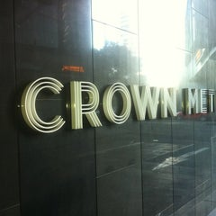 Photo taken at Crown Metropol Hotel by Dean P. on 7/21/2012