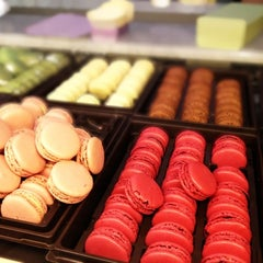 Photo taken at Ladurée by Marco G. on 5/1/2012