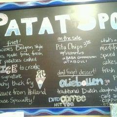 Photo taken at Patat Spot by Karen G. on 12/19/2011