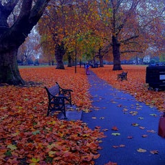 Photo taken at London Fields by Hugo on 11/11/2011