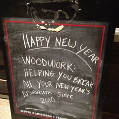 Photo taken at Woodwork by MidgeMadge D. on 1/7/2012
