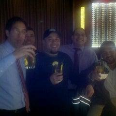 Photo taken at Glen Lounge At Glenpointe Center by Ariel E. on 12/24/2011