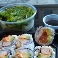 Photo taken at Osaka Sushi Express & Fresh Fruit Drinks by Jim L. on 1/14/2012