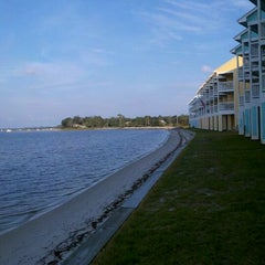 Photo taken at Innerarity Island by Michele H. on 9/17/2011