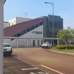 Photo taken at 東金沢駅 (Higashi-Kanazawa Sta.) by しるうぃ on 6/7/2012