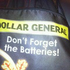Photo taken at Dollar General by Richard H. on 12/3/2011