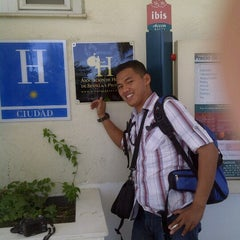Photo taken at Ibis Hotel Sevilla by Bang D. on 8/25/2012
