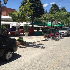 Photo taken at Praça de Guaramiranga by Francisco B. on 8/19/2012