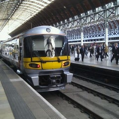 Photo taken at Heathrow Express Train - Paddington [PAD] to Heathrow [HXX] by sss on 9/19/2011