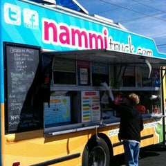 Photo taken at Nammi Truck by Tina L. on 11/5/2011
