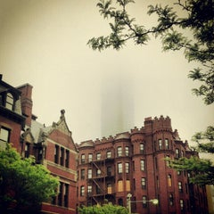 Photo taken at Newbury Street by Eric on 5/4/2012