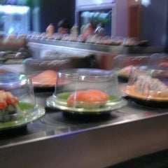 Photo taken at Sushi Sakura by Andrea L. on 10/18/2011
