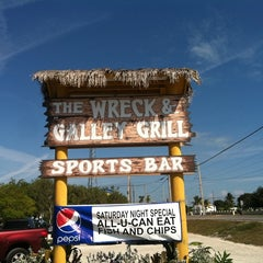 Photo taken at The Wreck Galley & Grill by Doug K. on 1/28/2012