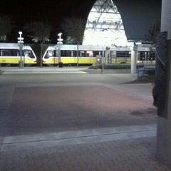 Photo taken at Parker Road Station (DART Rail) by Steven G. on 11/28/2011
