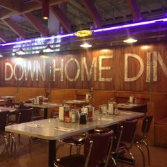 Photo taken at Down Home Diner by SHOE B. on 5/14/2012