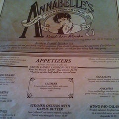 Photo taken at Annabelle's Famous Keg And Chowder House by Karina O. on 7/30/2012