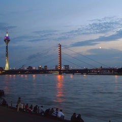 Photo taken at Rheinufer by SORAT Hotels on 9/16/2011