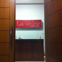 Photo taken at La Voice Music Studio by Adisti A. on 10/20/2011