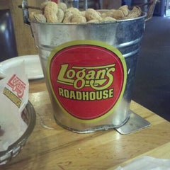 Photo taken at Logan's Roadhouse by Marie M. on 10/8/2011