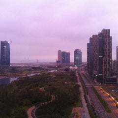 Photo taken at Sheraton Incheon Hotel by Bruno Y. on 7/8/2011