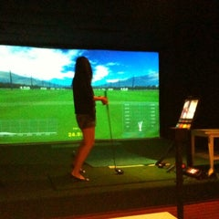 Photo taken at Virtual Golf @ Plaza by the Park by June T. on 5/14/2011