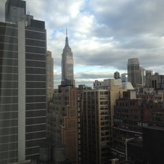 Photo taken at Fairfield Inn & Suites New York Manhattan/Times Square by Chris B. on 3/29/2012