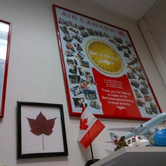 Photo taken at Air Canada back office by Carlos B. on 8/22/2012