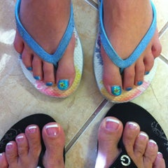 Photo taken at Vo Nails by Melyn H. on 8/7/2011