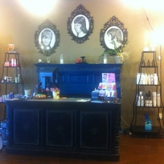 Photo taken at Double-O Salon by Kristen B. on 7/27/2011
