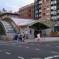 Photo taken at MTA Subway - 96th St (1/2/3) by KENNECTED on 6/10/2011