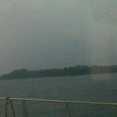 Photo taken at Pulau Sambu by andi on 9/10/2011