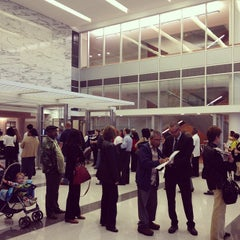 Photo taken at George L. Allen Sr. Courts Building by Tony E. on 1/31/2012