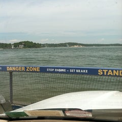 Photo taken at Shelter Island South Ferry - Shelter Island Terminal by Leah M. on 7/4/2011