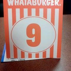 Photo taken at Whataburger by Zane L. on 8/29/2011