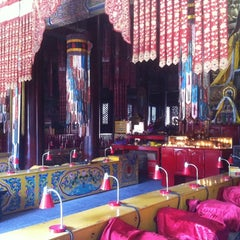 Photo taken at 雍和宫 Yonghegong Lama Temple by Dick V. on 3/27/2011