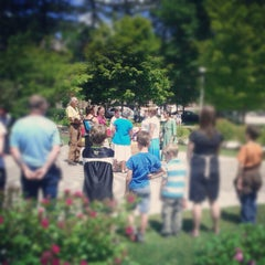 Photo taken at Newman Memorial Gardens by Ben W. on 6/21/2012