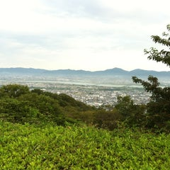 Photo taken at 眉山公園 by DY d. on 9/1/2012
