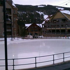 Photo taken at Dercum Square Ice Rink by Jeff W. on 2/1/2012