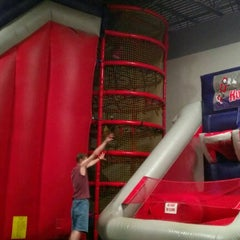 Photo taken at Bounceu Fishers by Kelly S. on 7/21/2012