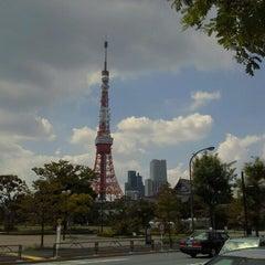 Photo taken at 芝公園駅 (Shibakōen Sta.) (I05) by jujurin 0. on 8/17/2012
