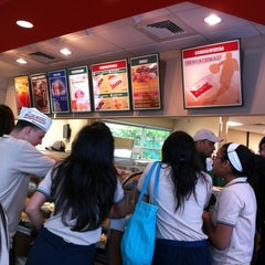 Photo taken at Krispy Kreme by Marina F. on 3/9/2012