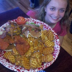 Photo taken at Jethros BBQ and Jambalaya by Brian W. on 1/8/2012