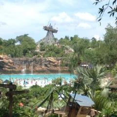Photo taken at Disney's Typhoon Lagoon Water Park by Kristal G. on 6/13/2012