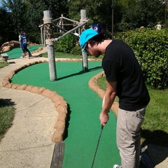 Photo taken at Congo River Miniature Golf by Jessica W. on 8/11/2012