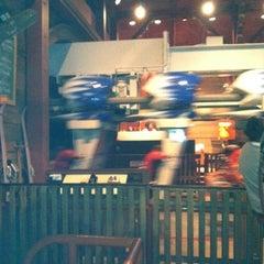 Photo taken at Alpengeist - Busch Gardens by Ren M. on 6/18/2011