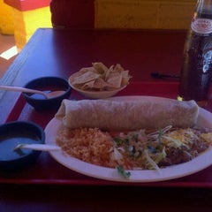 Photo taken at El Rodeo Mexican Food by Arthur M. on 1/15/2011