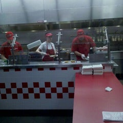 Photo taken at Five Guys Burgers & Fries by Steve M. on 1/6/2011