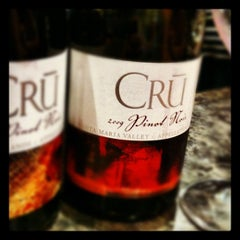 Photo taken at CRU Wine Company by Brian D. on 5/12/2012