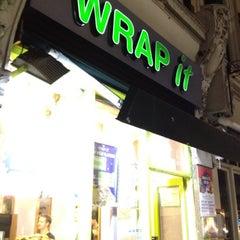 Photo taken at Wrap It by David J. on 8/4/2012