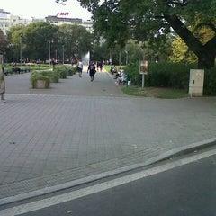 Photo taken at Moravské náměstí by Jirka H. on 9/5/2012
